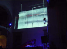 AMELIE DUCHOW - MURCOF - live performance - curated by Marco Monfardini
