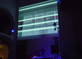 Amelie Duchow | Tonstich preview | live at Museo Marino Marini | Firenze | photo Fabio Rossetti